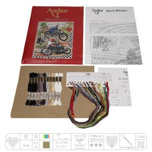 """Anchor Kreuzstich-Set """"Die Insel Man"""",..."""