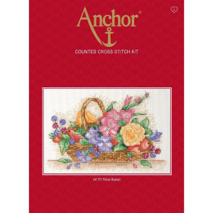 """Anchor counted Cross Stitch kit """"Floral..."""