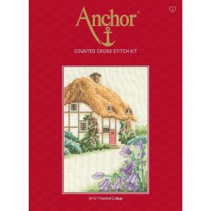 """Anchor Kreuzstich-Set """"Strohgedeckte..."""