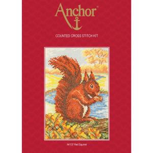 """Anchor Kreuzstich-Set """"Rotes..."""