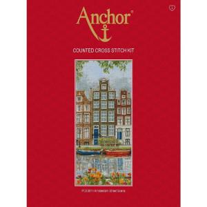 "Anchor Kreuzstich-Set ""Amsterdamer Szene"",..."