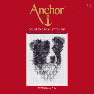 "Anchor Kreuzstich-Set ""Border Collie"",..."