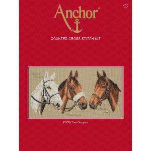 """Anchor Kreuzstich-Set """"Drei Champions"""",..."""