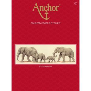 "Anchor Kreuzstich-Set ""Elefantenbummel"",..."