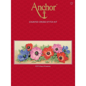 """Anchor counted Cross Stitch kit """"Spray Of..."""