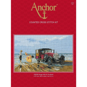 """Anchor counted Cross Stitch kit """"Vintage Rolls on..."""