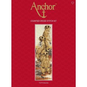 """Anchor Kreuzstich-Set """"Erdmännchen"""",..."""