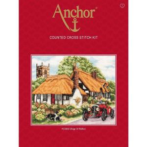 """Anchor Kreuzstich-Set """"Dorf von Welford"""",..."""