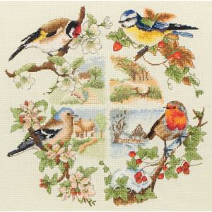 """Anchor counted Cross Stitch kit """"Birds And..."""