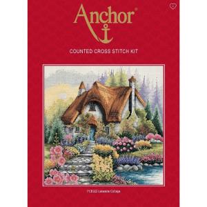 "Anchor Kreuzstich-Set ""Cottage am See"",..."