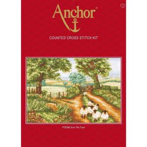 """Anchor Kreuzstich-Set """"Auf dem Weg"""",..."""