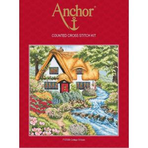 """Anchor Kreuzstich-Set """"Cottage Stream"""",..."""