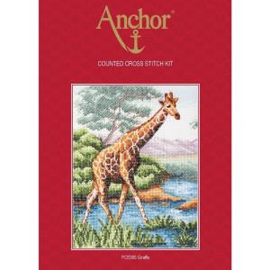 """Anchor Kreuzstich-Set """"Giraffe"""", Zählmuster"""