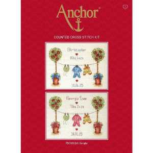 """Anchor counted Cross Stitch kit """"Birth..."""