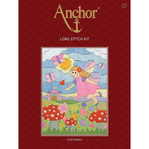 """Anchor stamped Long Stitch kit """"Fairy Land"""", DIY"""