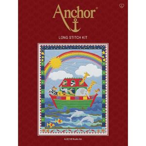 "Anchor stamped Long Stitch kit ""Noahs Ark"", DIY"