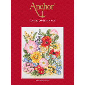 """Anchor counted Cross Stitch kit """"Meadow..."""