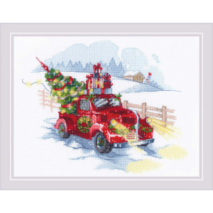 """Riolis counted cross Stitch """"To the Holidays""""..."""