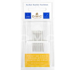 DMC Stitch Needle for cross stitch, rounded end,...