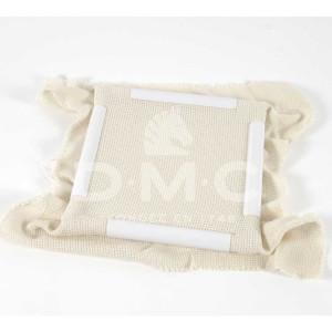 DMC weißer quadratischer Stickrahmen mit Clips...