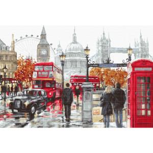 """Luca-S Kreuzstich Set """"London"""",..."""
