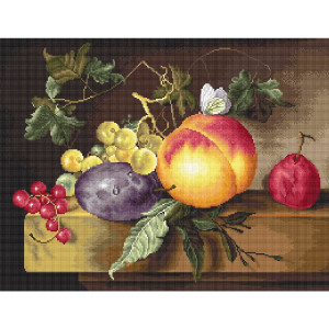"""Luca-S counted Cross Stitch kit """"Still Life..."""