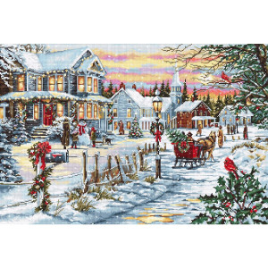 """Luca-S counted Cross Stitch kit """"Christmas..."""
