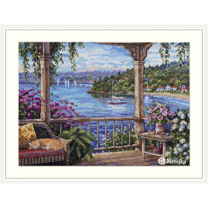 """Merejka Counted Cross Stitch Kit """"Tranquility"""",..."""