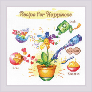 """Riolis counted cross stitch kit """"Recipe for..."""