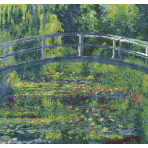 """DMC counted Cross Stitch kit """"The Water-Lily..."""