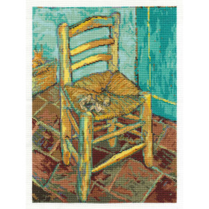 """DMC counted Cross Stitch kit """"Chair after Vincent..."""