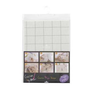 DMC Soluble Magic Paper squared, 21x29,7 cm, size Medium.