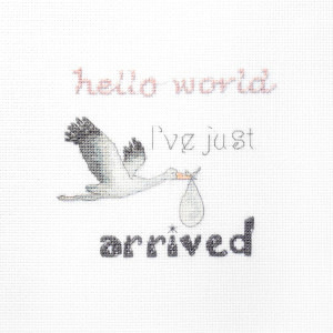 """Letistitch counted cross stitch kit """"A gift for a..."""