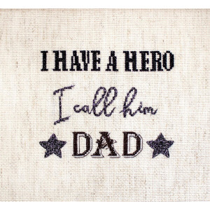 """Letistitch counted cross stitch kit """"Father's..."""