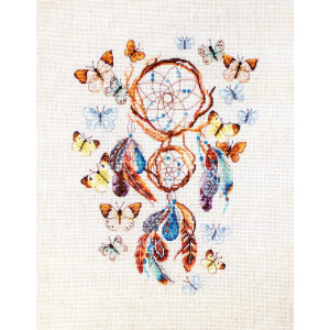 """Letistitch counted cross stitch kit """"Keep Your..."""