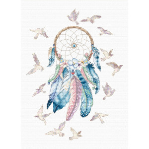 """Letistitch counted cross stitch kit """"Make your..."""
