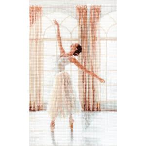 """Letistitch Kreuzstich Set """"Ballerina II"""";..."""
