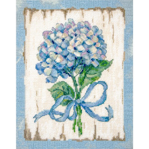 """Letistitch counted cross stitch kit """"BLUE II"""",..."""