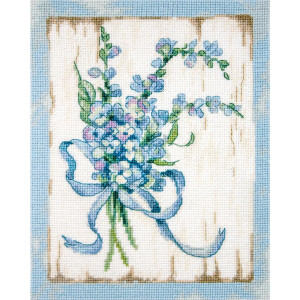 """Letistitch counted cross stitch kit """"BLUE I"""",..."""