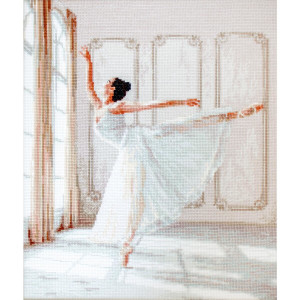 """Letistitch counted cross stitch kit """"Ballerina..."""