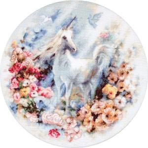 "Letistitch counted cross stitch kit ""Unicorn"",..."