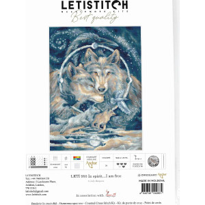"""Letistitch counted cross stitch kit """"In..."""