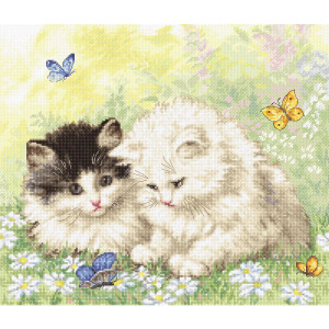 """Letistitch counted cross stitch kit """"Summer..."""