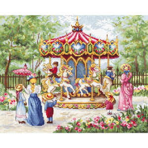 """Letistitch counted cross stitch kit """"Magical..."""