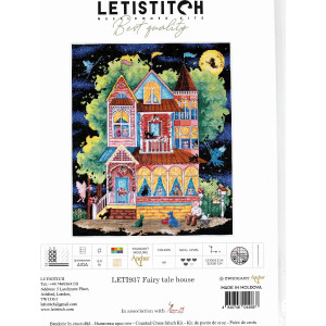 """Letistitch counted cross stitch kit """"Fairy tale..."""