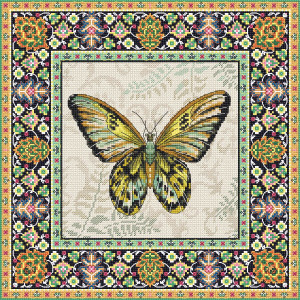 """Letistitch counted cross stitch kit """"Vintage..."""