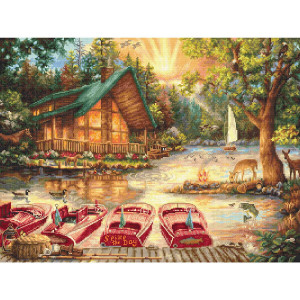 """Letistitch counted cross stitch kit """"Seize the..."""