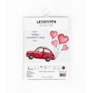 """Letistitch Kreuzstich Set """"Zum Valentinstag"""";..."""