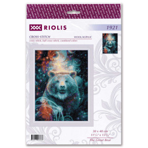 """Riolis counted cross stitch kit """"The Great..."""