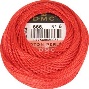 DMC Perlgarn Knäuel Stärke 5, 10 g, 116A/5-666